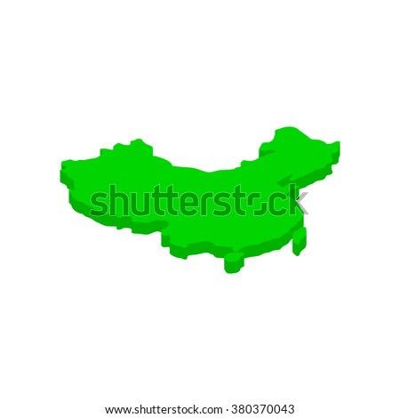 Map of China icon. Map of China icon art. Map of China icon web. Map of China icon new. Map of China icon www. Map of China icon app. Map of China icon big. Map of China icon best - stock vector