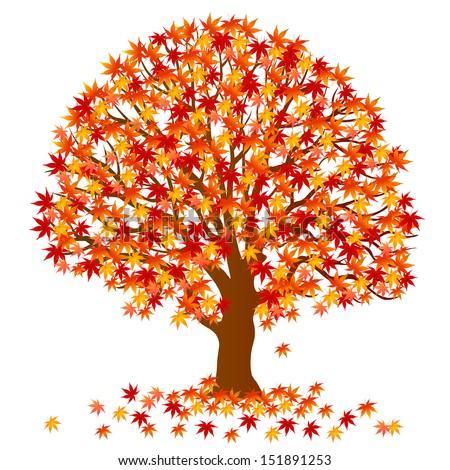 Red Maple Tree Stock Vectors & Vector Clip Art | Shutterstock