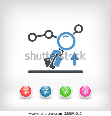 Marketing research services - stock vector