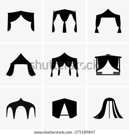 Marquees - stock vector