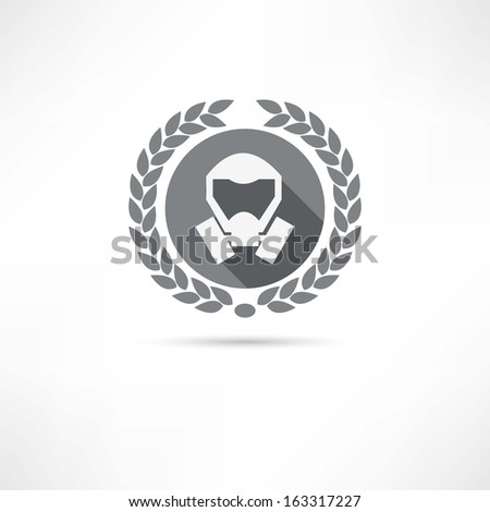 mask icon - stock vector