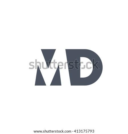 Md Logo Design Mds Stock Photos, Imag...