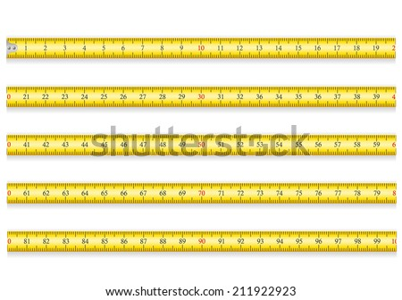 measuring tape for tool roulette vector illustration EPS 10 isolated on white background - stock vector