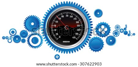 mechanic concept - stock vector