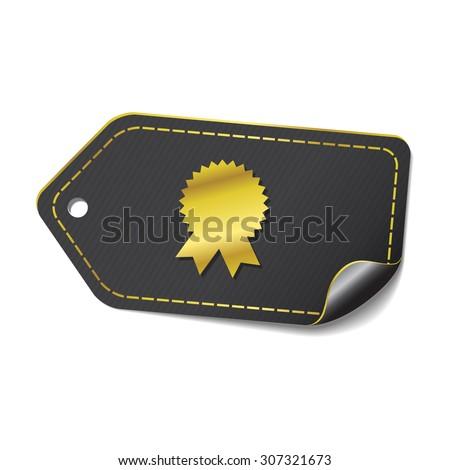 Medal golden Vector Icon Design - stock vector