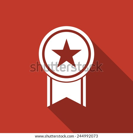 medal icon - stock vector
