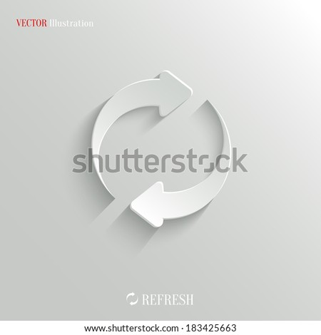 Media player icon - vector web illustration, easy paste to any background - stock vector