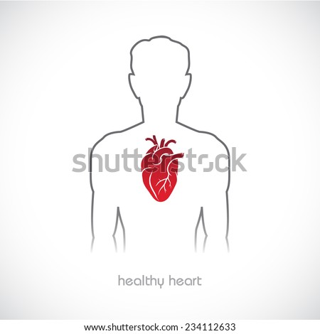 Medical, health and healthcare icon  - stock vector