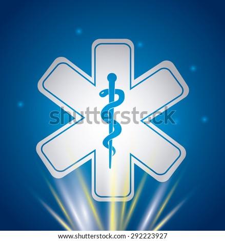 medical healthcare  design, vector illustration eps10 graphic  - stock vector