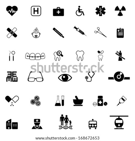 Medical icon - stock vector