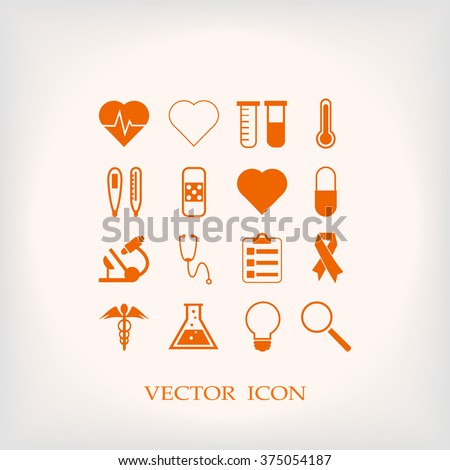 Medical Icons - stock vector