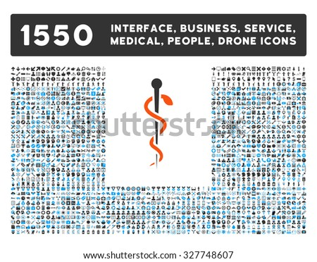 Medical Needle and other web interface, business tools, people poses, medical service vector icons. Style is flat symbols, bicolored, rounded angles, white background. - stock vector