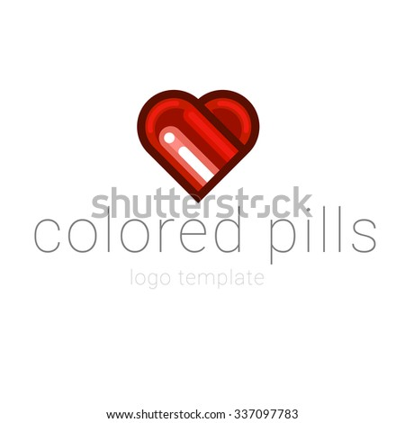 Medical pill sign icon. - stock vector