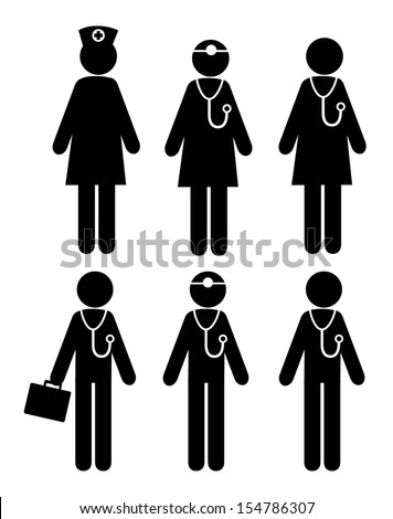 medical resource over white background vector illustration  - stock vector