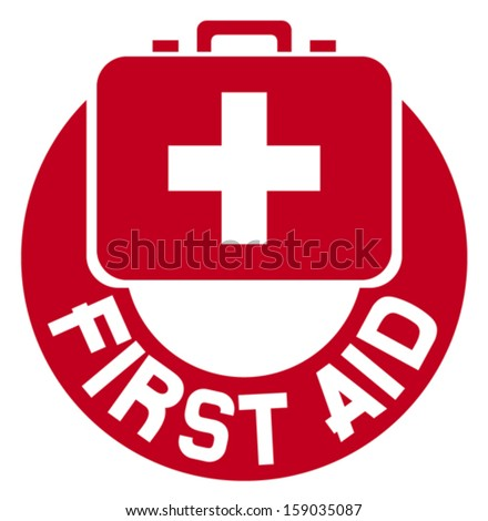 medical sign button (first aid medical sign, help icon, pharmacy cross icon, first aid button, medical cross) - stock vector