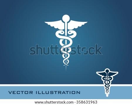 Medical Symbol Icon. Eps-10. - stock vector