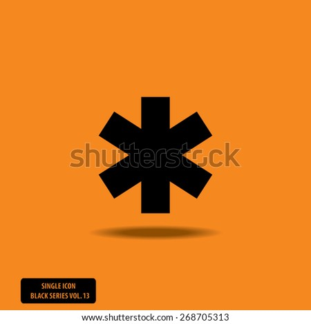Medical Symbol - Single Icon Series vol. 13 - stock vector