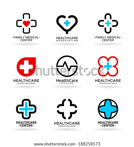 Medicine and Healthcare (4) - stock vector