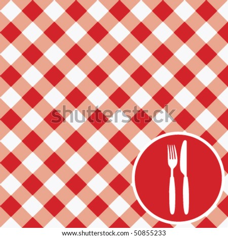 menu card / vector - stock vector