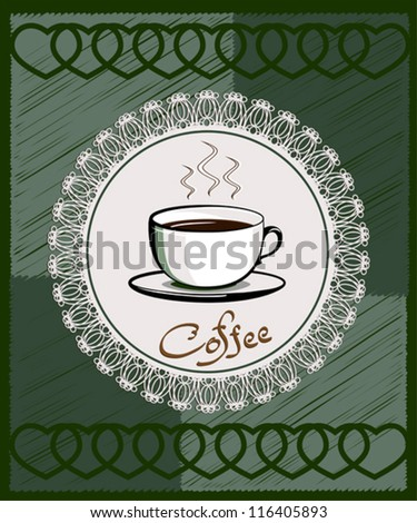 Menu for cafe, bar, restaurant, coffeehouse - stock vector