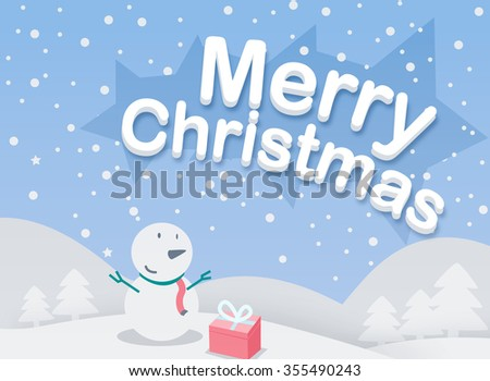 Merry Christmas event - stock vector