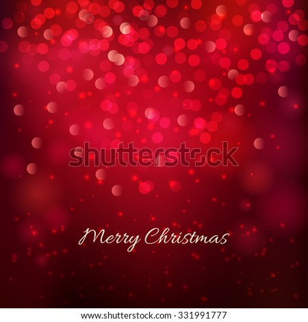 Merry Christmas festive background. Vector illustration - stock vector