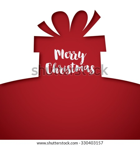Merry christmas presents vector - stock vector