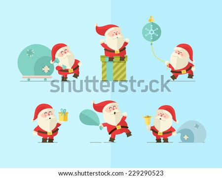 Merry christmas. vector winter background.  - stock vector