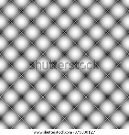 Mesh, mosaic of squares seamless geometric pattern - stock vector