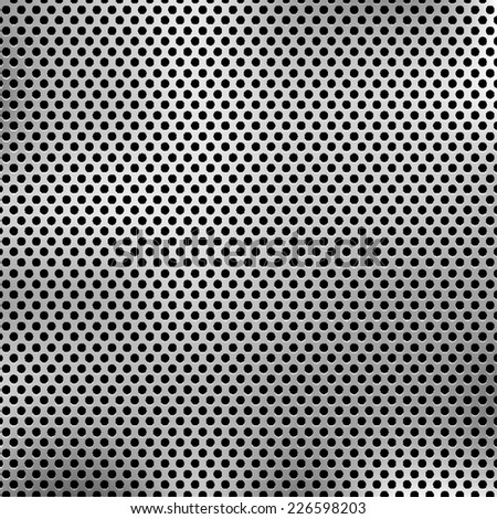 Metal background. Vector EPS10 - stock vector