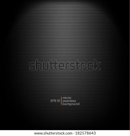 metal black background - stock vector