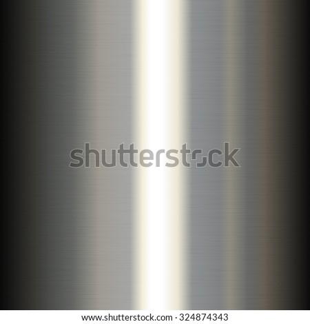 Metal Shine Seamless Texture Background. Vector illustration - stock vector