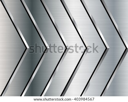 Metal texture background. Stainless steel. Vector illustration - stock vector