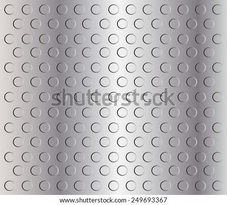 Metal texture.Metal plate.Vector illustration. - stock vector