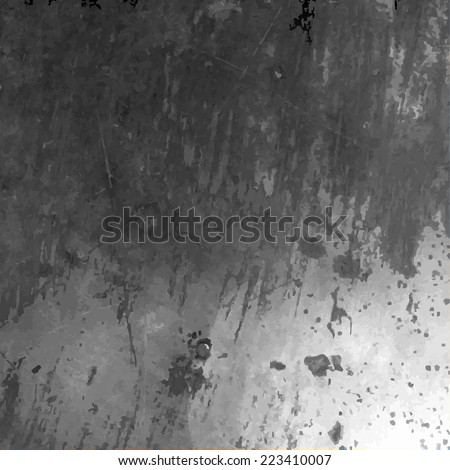 Metal Texture With Gradient Mesh, Vector Illustration - stock vector