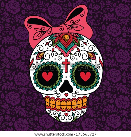 Sugar skull Stock Photos, Images, & Pictures | Shutterstock