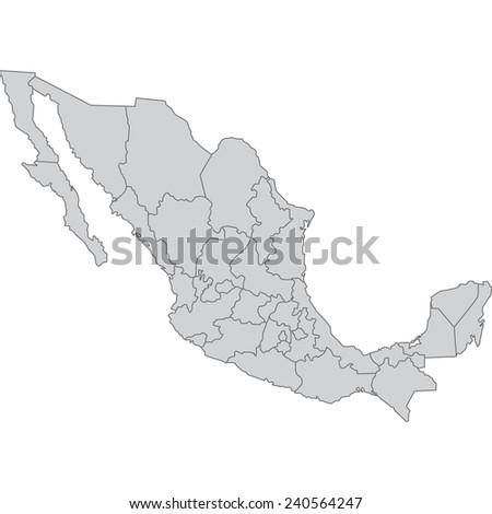 mexico - stock vector