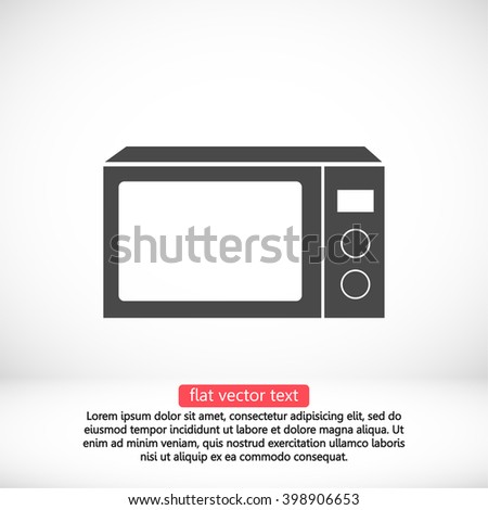 Microwave icon, microwave pictograph, microwave web icon, microwave icon vector, microwave icon eps, microwave icon illustration, microwave icon picture, microwave flat icon, microwave design icon - stock vector