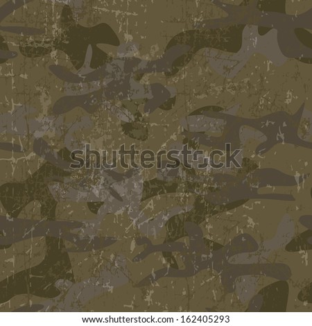 Military background with copy space - stock vector