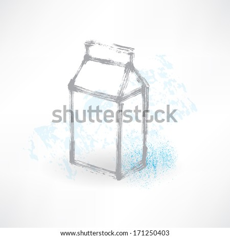 Milk icon. - stock vector