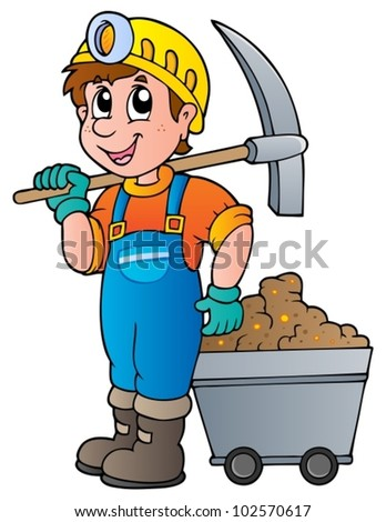 Gold mining clipart
