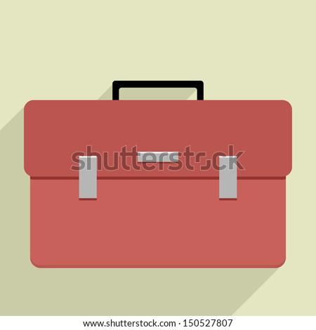 Open Briefcase Vector Briefcase Stock Vector