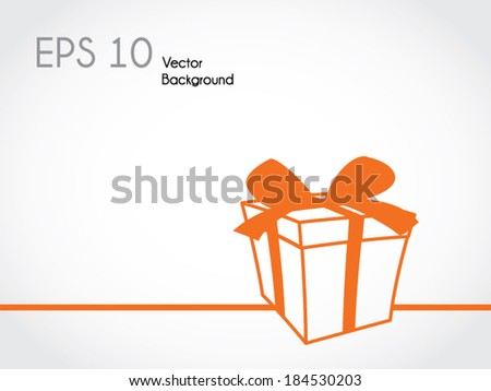 Minimalistic vector background - stock vector