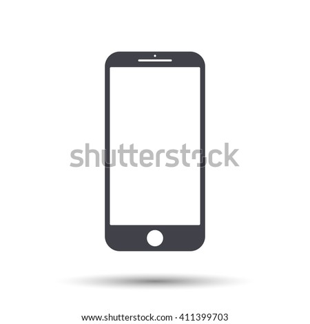 Mobile mockup icon. Mobile vector icon, Phone icon illustration, Mobile icon eps. Mobile icon flat. Phone icon object. Mobile icon pictogram. Mobile phone icon art stock vector Vector illustration - stock vector