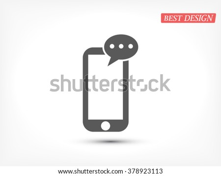 Mobile phone sms  icon, Mobile phone sms  icon eps 10, Mobile phone sms  icon vector, Mobile phone sms  icon illustration, Mobile phone sms  icon jpg, Mobile phone sms  icon picture, - stock vector