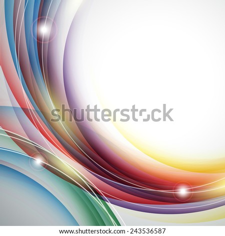 modern abstract vector background with shiny  lines. Eps10 - stock vector
