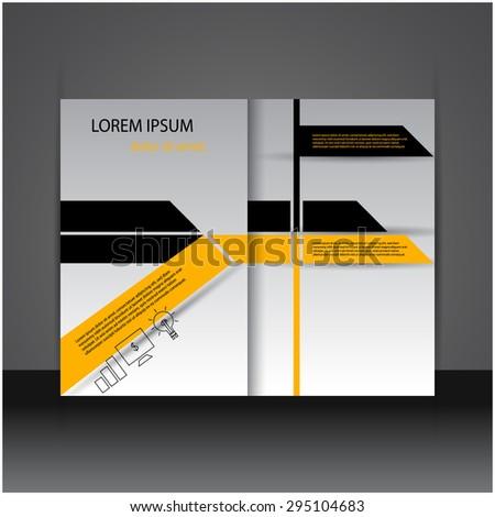 Modern creative flyer / brochure design. - stock vector