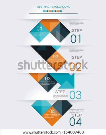 Modern design. Can be used for Book cover, Graphics, Lay out, Content page.  - stock vector