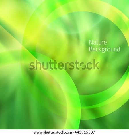 Modern design spring abstract background of bright glowing blur oblique rays. Graphic Vector illustration EPS 10. Futuristic lights style for wellness or yoga theme booklet - stock vector