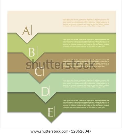 Modern design template - stock vector